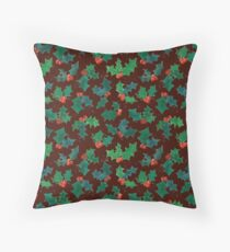 Holly Jolly - Berry Throw Pillow
