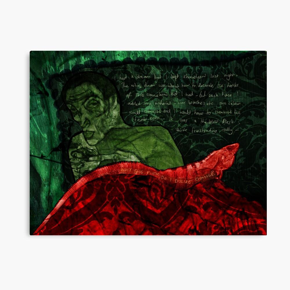 Chameleon Dream Canvas Print