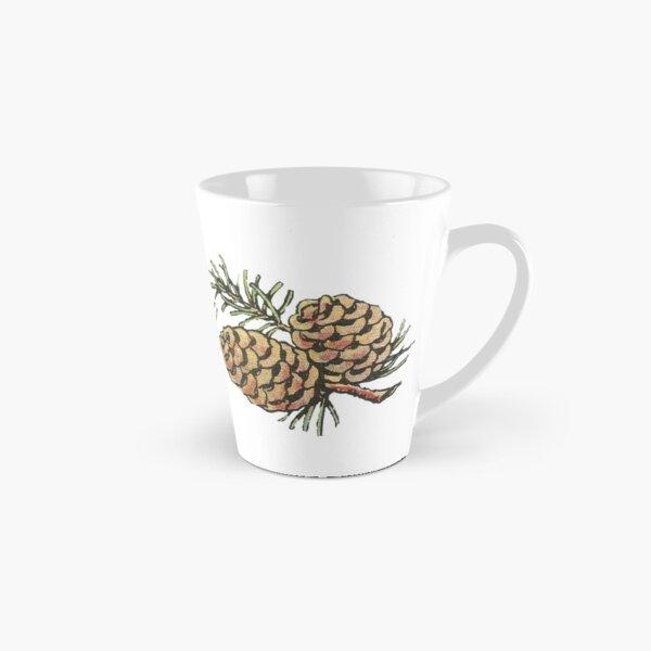 Vintage Pinecones and Pine Needles - Christmas Tall Mug