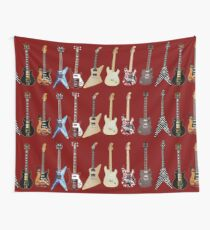 GUITARS Wall Tapestry