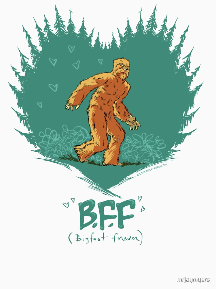 Bigfoot Forever by mrjaymyers