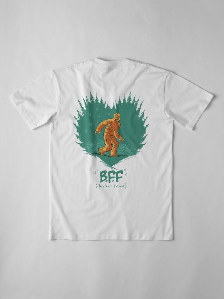 Alternate view of Bigfoot Forever Premium T-Shirt