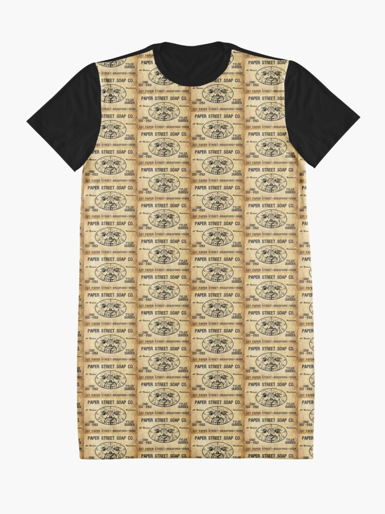 Alternate view of Paper Street Soap Co. Graphic T-Shirt Dress
