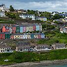 Colorful Cohb Houses by DARRIN ALDRIDGE