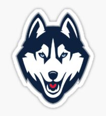 UCONN Huskies Logo  Sticker