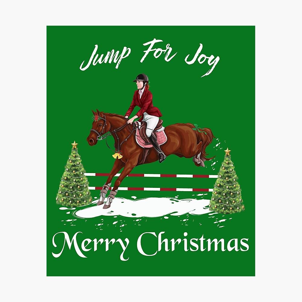 Merry Christmas Equestrian Mens Printed Hooded Sweatshirt Hoody
