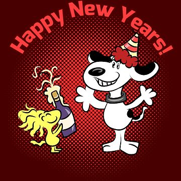 Snoopy's New Years by Katastra