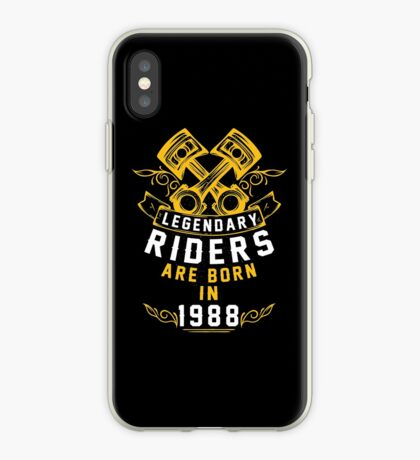 Legendary Riders Are Born In 1988 iPhone Case