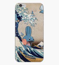 Mudkip Wave iPhone Case