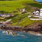 Roche's Point Lighthouse Ireland by DARRIN ALDRIDGE