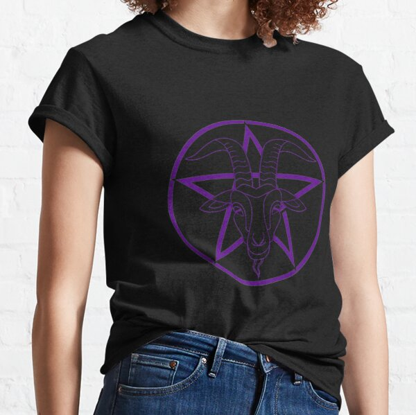 Baphomet - Purple Classic T-Shirt