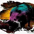 Psychedelic Piggie! by Heather Friedman