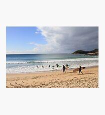 Manly Beach, Australia Photographic Print
