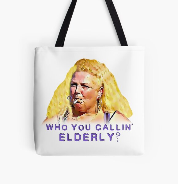 90 Day Fiancé - Angela - Elderly All Over Print Tote Bag