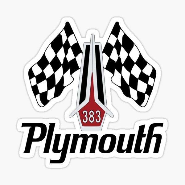 Plymouth 383 Sticker