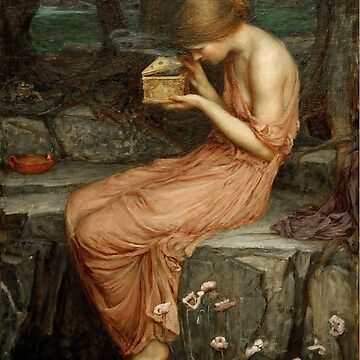Psyche Opening the Golden Box - John William Waterhouse by themasters