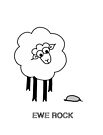 Ewe Rock by Adrienne Body