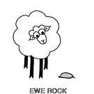 Ewe Rock by Adrienne Body