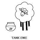 Tank Ewe by Adrienne Body