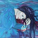 Whispers and waves - from WHISPERS series by dorina costras