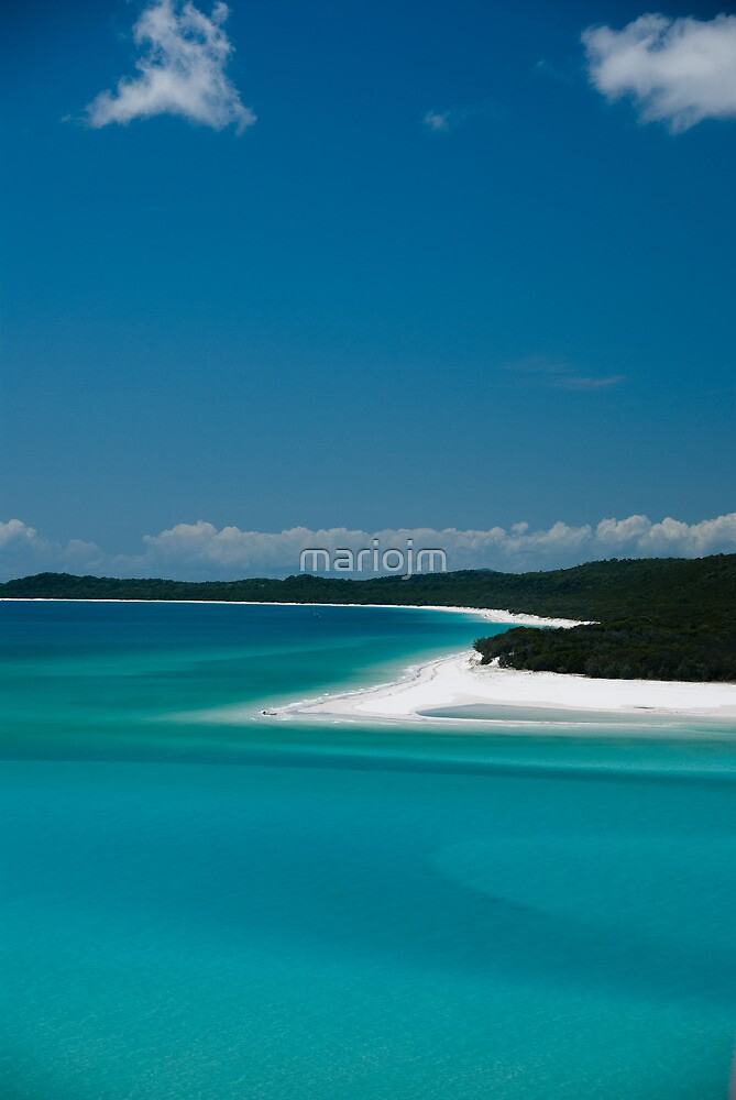 Whitsunday Island by mariojm