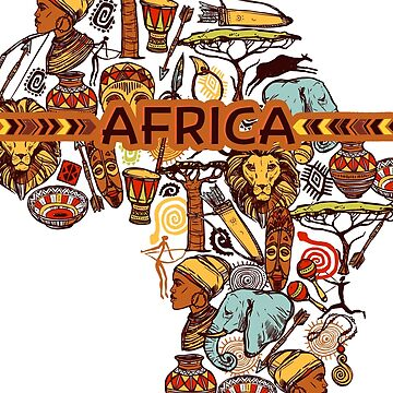 Amazing Africa patterns by MichailoAvilov