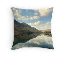 Buttermere and the High Stile Range Throw Pillow