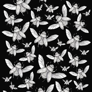 Beetles Flying by Surrealist1