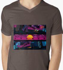 Showdown Men's V-Neck T-Shirt