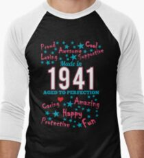 Made In 1941 - Aged To Perfection Men's Baseball ¾ T-Shirt