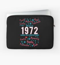 Made In 1972 - Aged To Perfection Laptop Sleeve