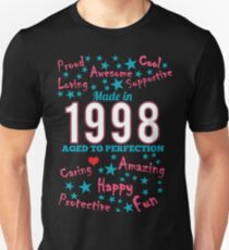 Made In 1998 - Aged To Perfection Unisex T-Shirt
