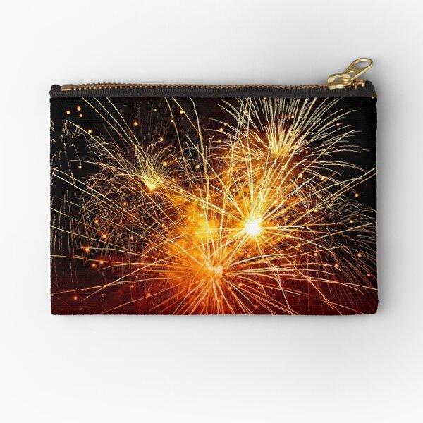 Fireworks Evening Zipper Pouch