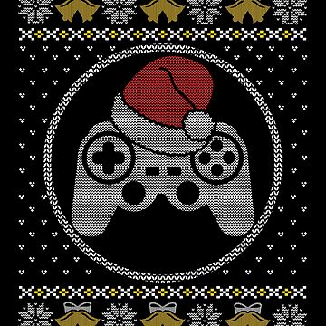 Christmas Gamer Ugly Sweater  by adjua