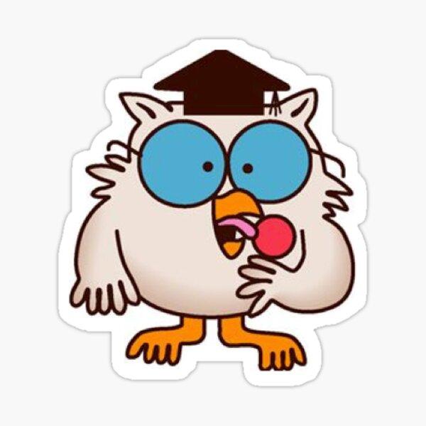 Tootsie Roll Pop - Owl Sticker