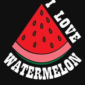 I love watermelon by tarek25