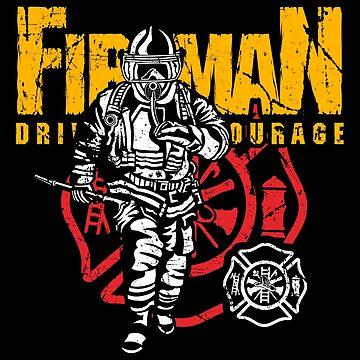 Proud Fireman by EddieBalevo
