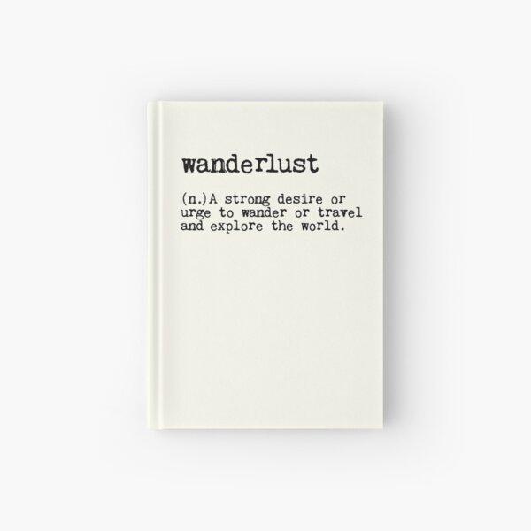 Wanderlust Hardcover Journal