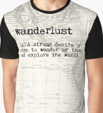 Camiseta gráfica Pasión de viajar