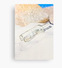Ship In Bottle Canvas Print