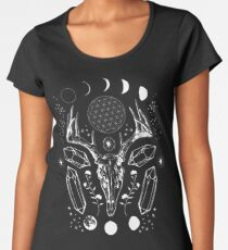 Crystal Moon. Women's Premium T-Shirt