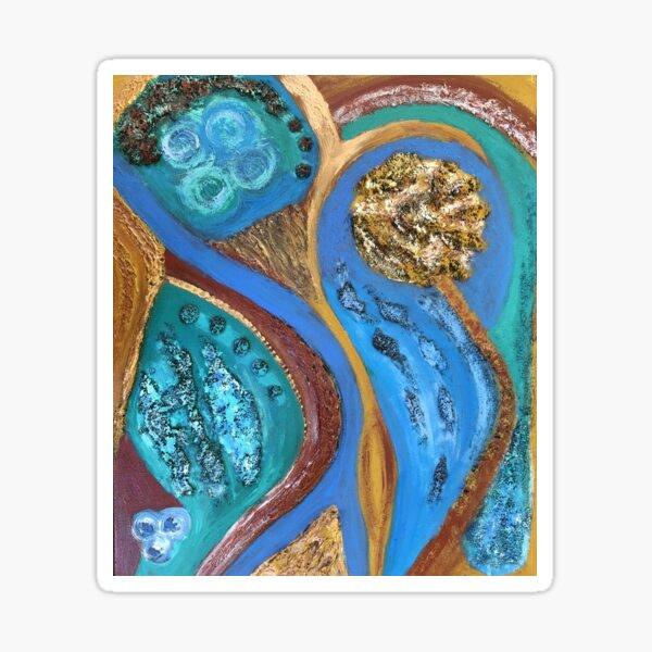 Blue Lagoon Sticker