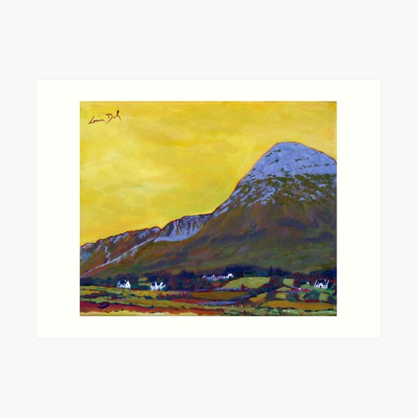 Croagh Patrick, Mayo Art Print