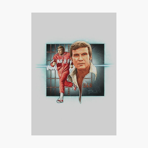 The Bionic Man! Photographic Print