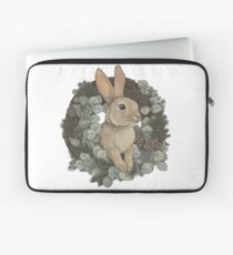 Winter Rabbit Laptop Sleeve