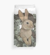 Winter Rabbit Duvet Cover