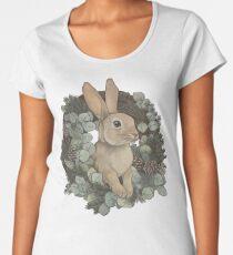 Winter Rabbit Premium Scoop T-Shirt