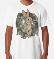 Winter Rabbit Long T-Shirt