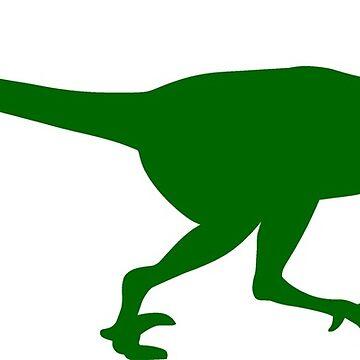 Velociraptor Dinosaur by sweetsixty