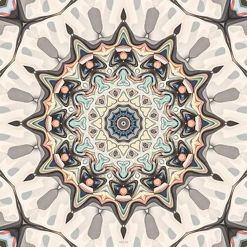 Earth Tones Kaleidoscope by perkinsdesigns